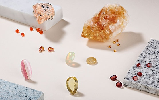 Select your gemstones
